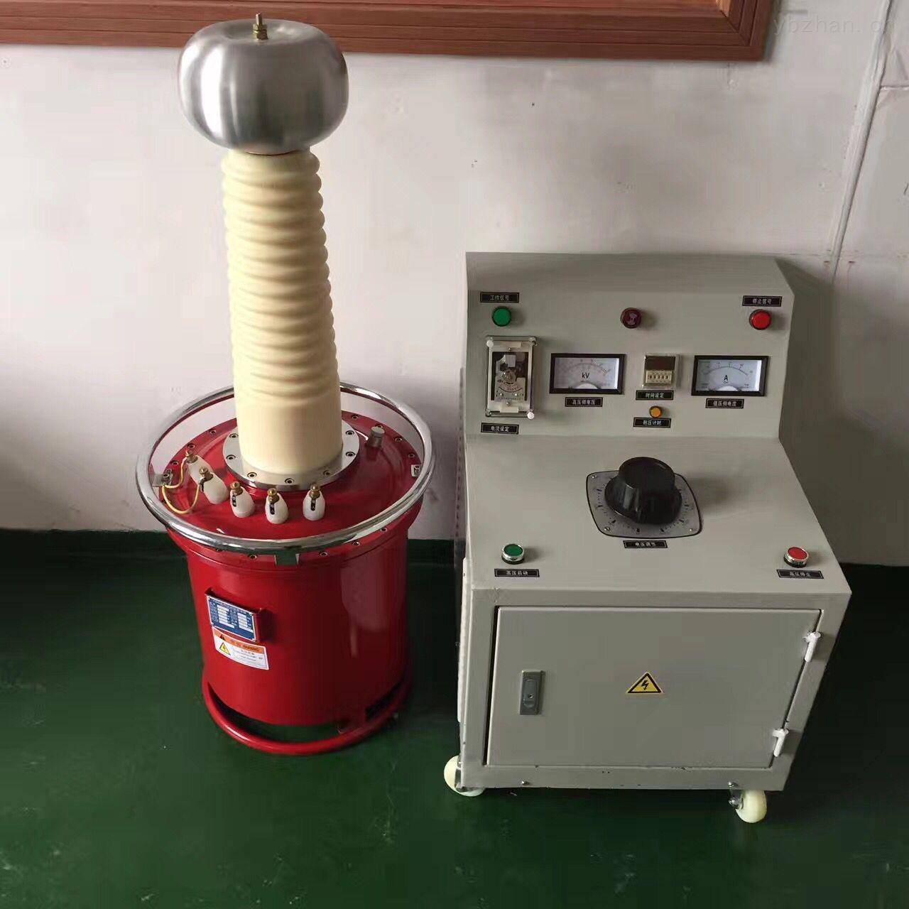 厂家供应10KVA/100KV交直流试验变压器