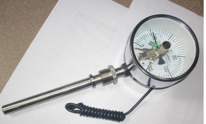 帶熱電阻雙金屬溫度計