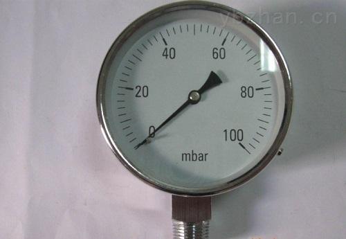 就地指示型弹簧管压力表