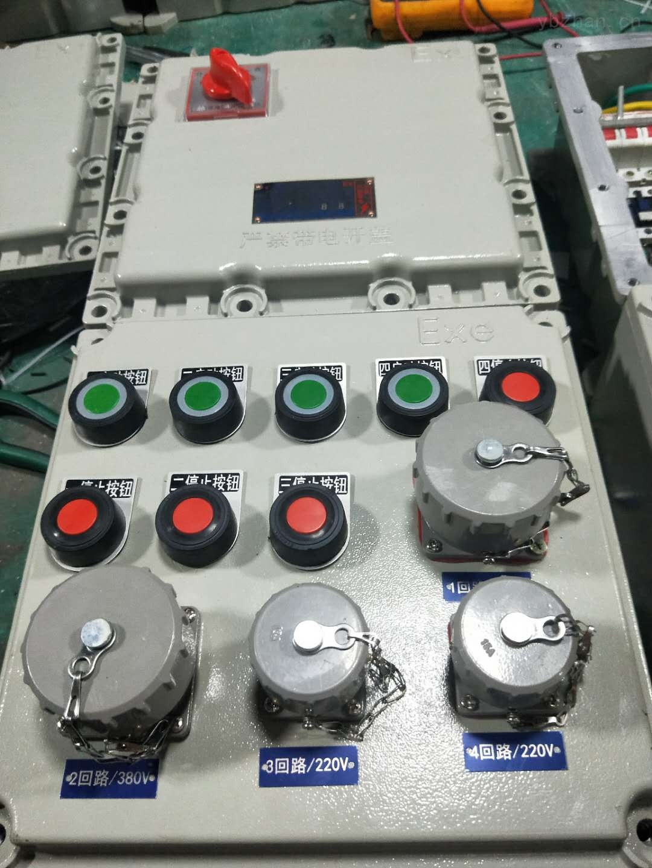 BXX53-3/63K100防爆動力檢修箱
