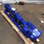 不锈钢防爆变频单螺杆泵