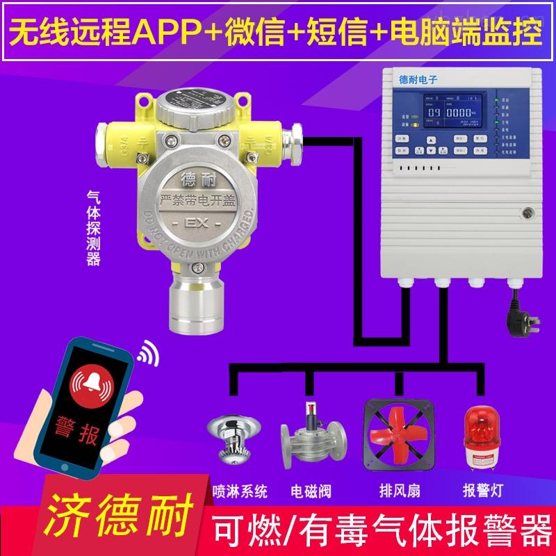 工业用乙醇泄漏报警器,防爆型可燃气体探测器