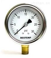 PG系列美国REOTEMP工业用不锈钢/铜质内部压力表
