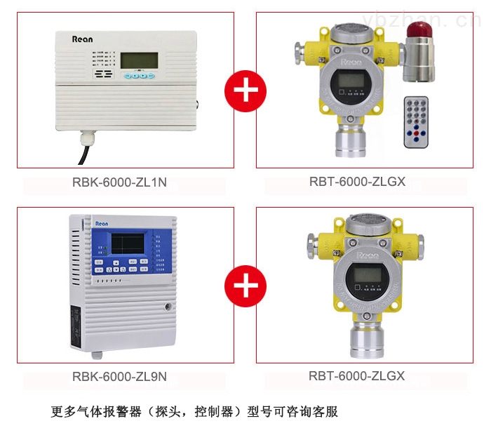固定式氯甲烷泄漏检测探头 有毒气体浓度报警器
