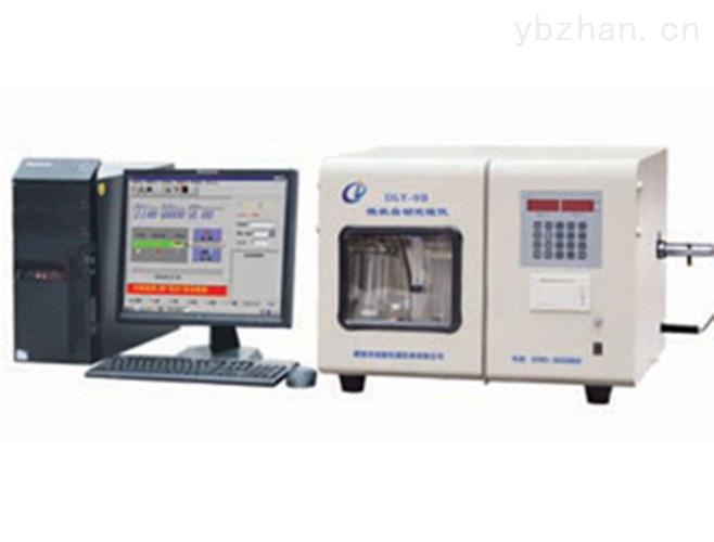焦化廠全自動定硫儀 煤炭化驗儀器 熱力公司煤炭測硫儀