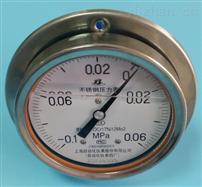不锈钢耐震轴向压力表