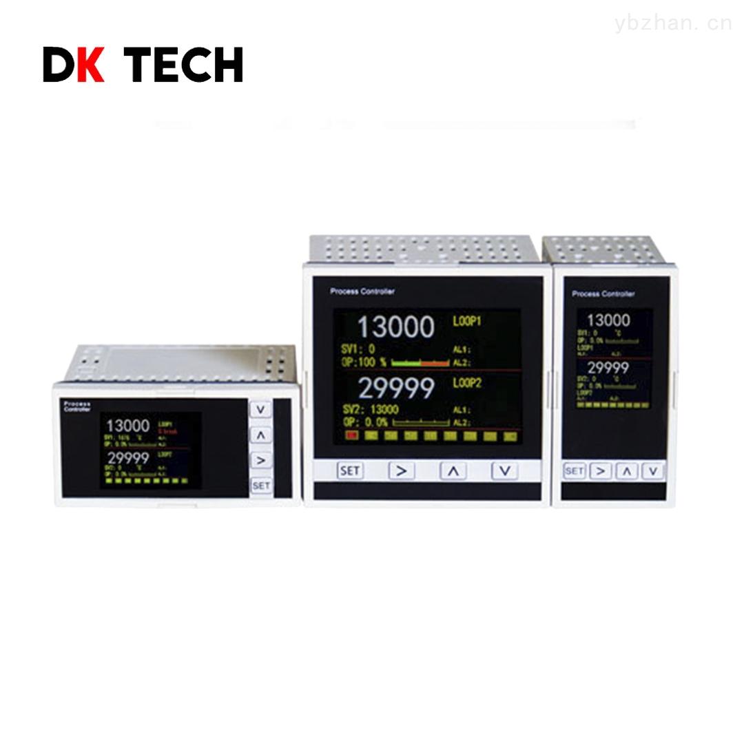 真彩屏雙回路PID曲線溫度過程控制器
