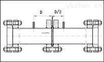 煤氣除塵DN300徑距取壓差壓式孔板流量計
