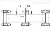 煤气除尘DN300径距取压差压式孔板流量计