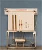 本生灯法测定燃气法向火焰传播速度测试装置