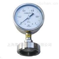 YTP-100MC系列卫生型隔膜压力表