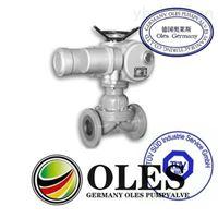 德国奥莱斯OLES进口电动调节隔膜阀