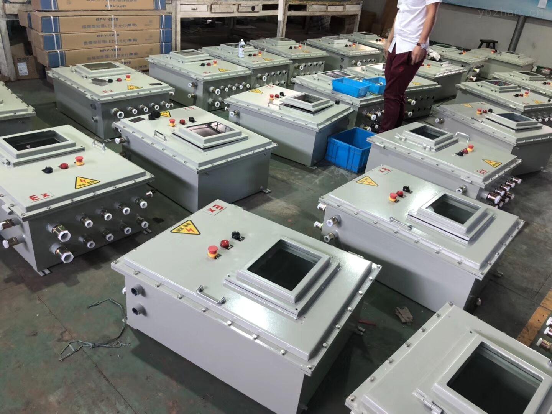 plc鋼板焊接防爆控制箱