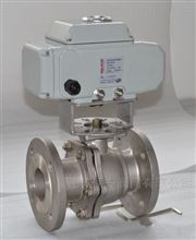 Q941H铸钢电动法兰高压球阀