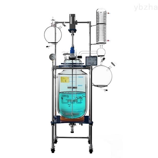 100L雙層玻璃反應釜