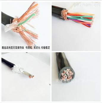 现货软芯屏蔽控制电缆 KVVRP 5*0.75