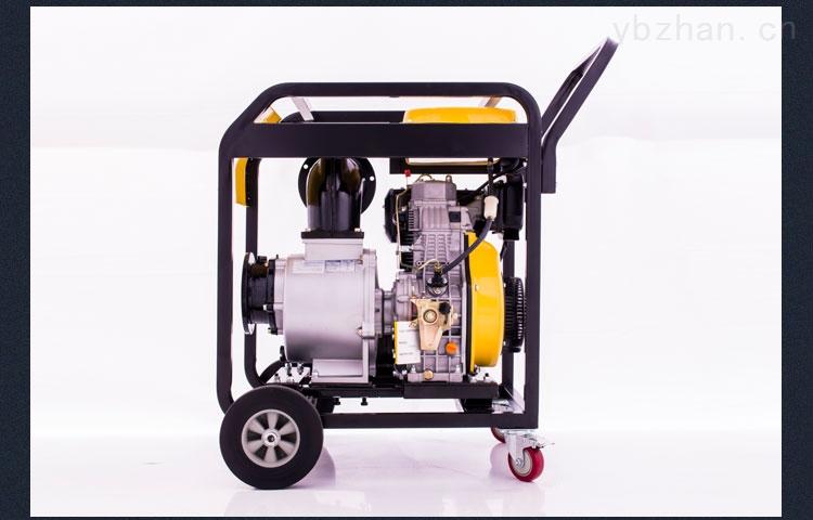 伊藤6寸电启动柴油机高压自吸泵
