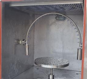 IPX3/4摆管淋雨试验机