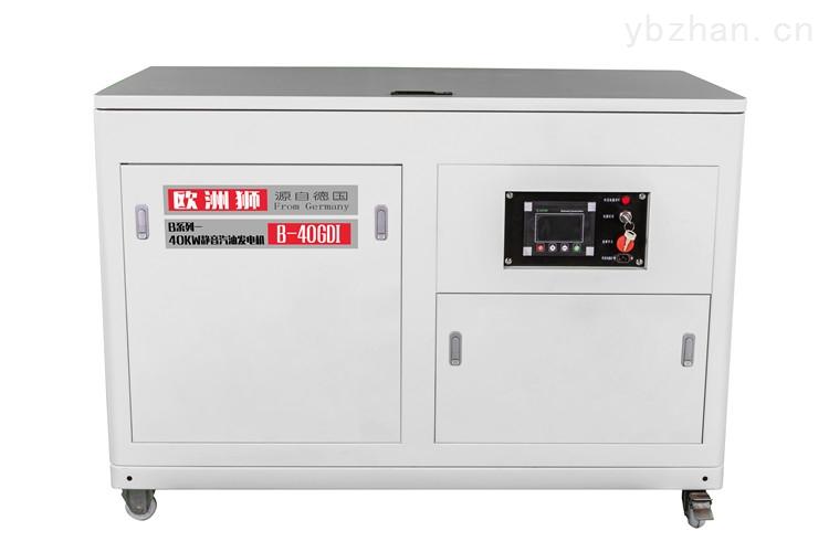 适合噪音小的40kw汽油发电机