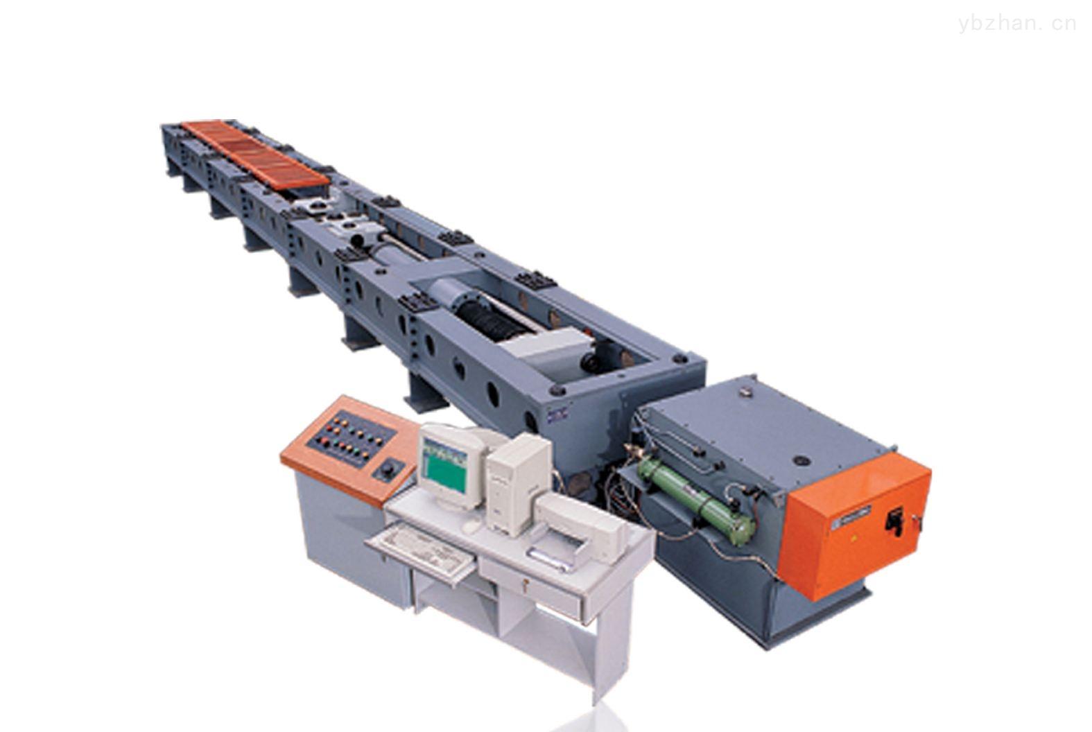 煤矿窄轨车辆连接件卧式拉力试验机