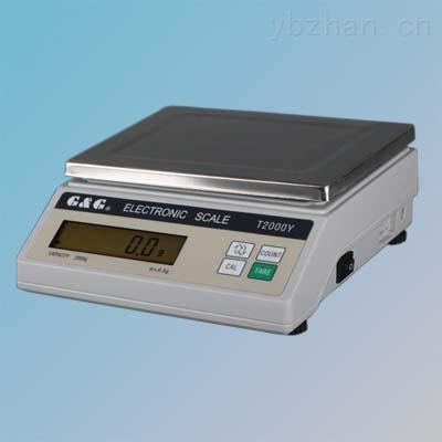 T5000Y-T5000Y雙杰電子天平 5000g/1g 交直流兩用