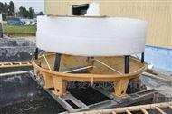 175T高温冷却塔-重庆逆流圆形冷却水塔购买