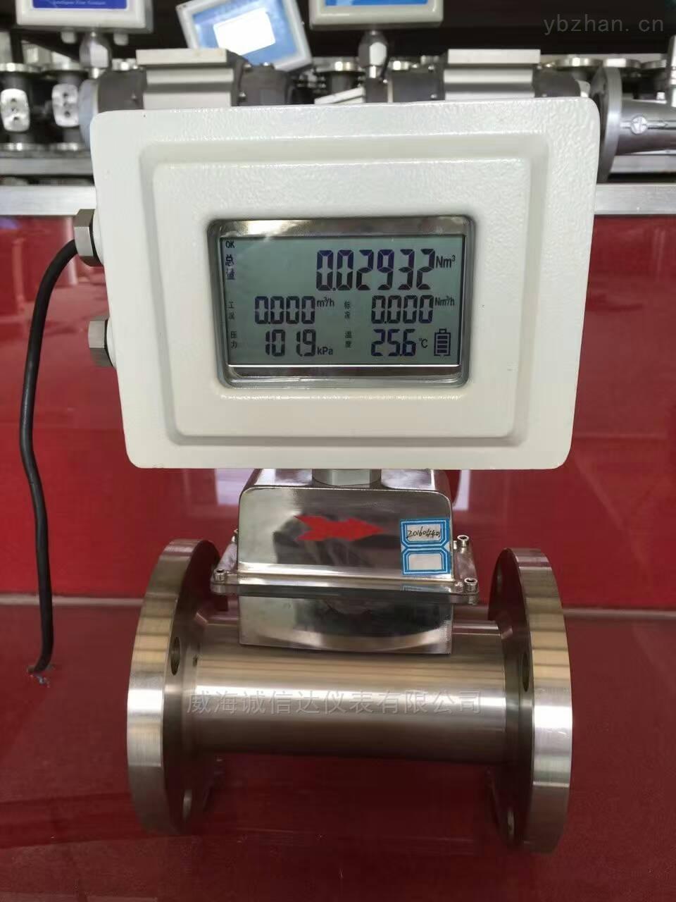 CXDLWQ-DN80-衛生型智能氣體渦輪流量計