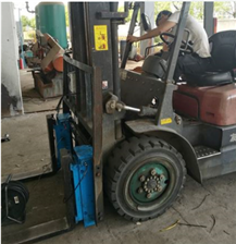 DF-BCZ高精度电子叉车秤   2吨燃油叉车