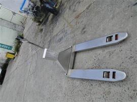 YCS2吨电子地牛秤  带打印不锈钢液压秤