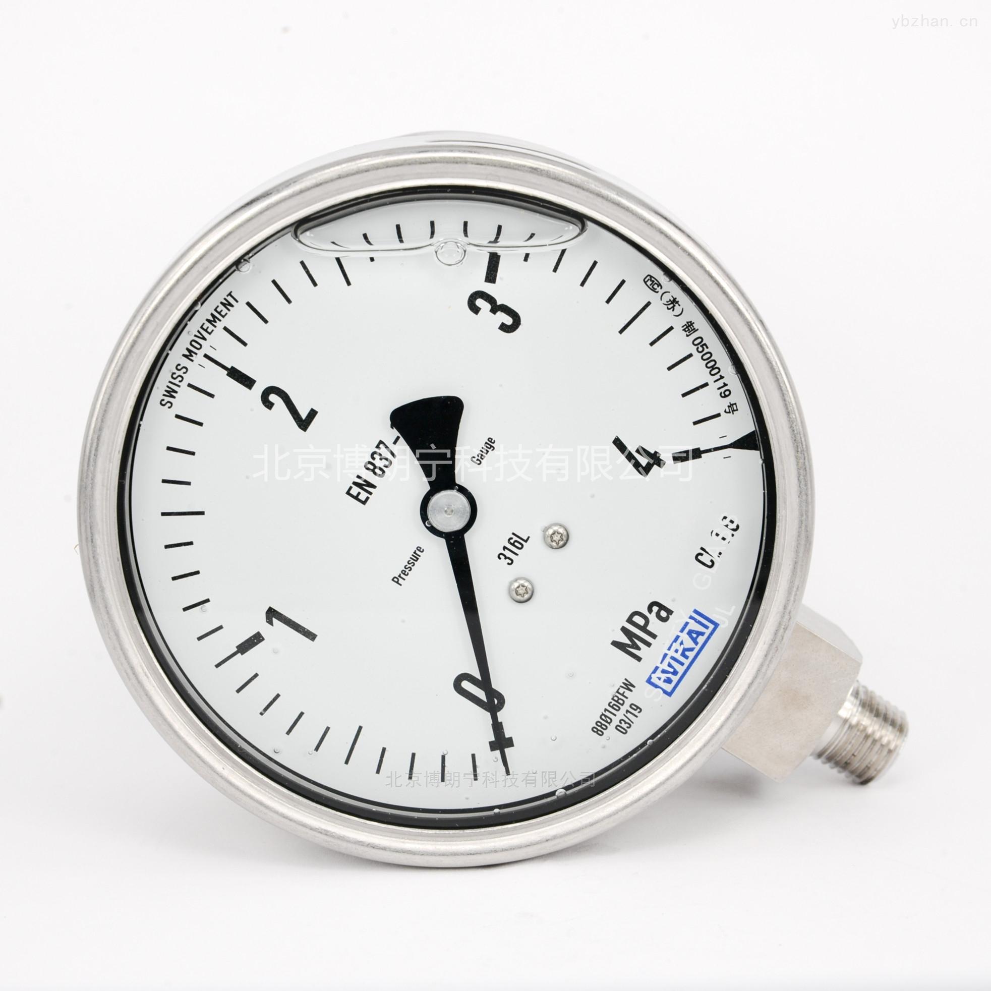 EN837-1|威卡壓力表報價