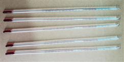 玻璃棒式水银温度计直销