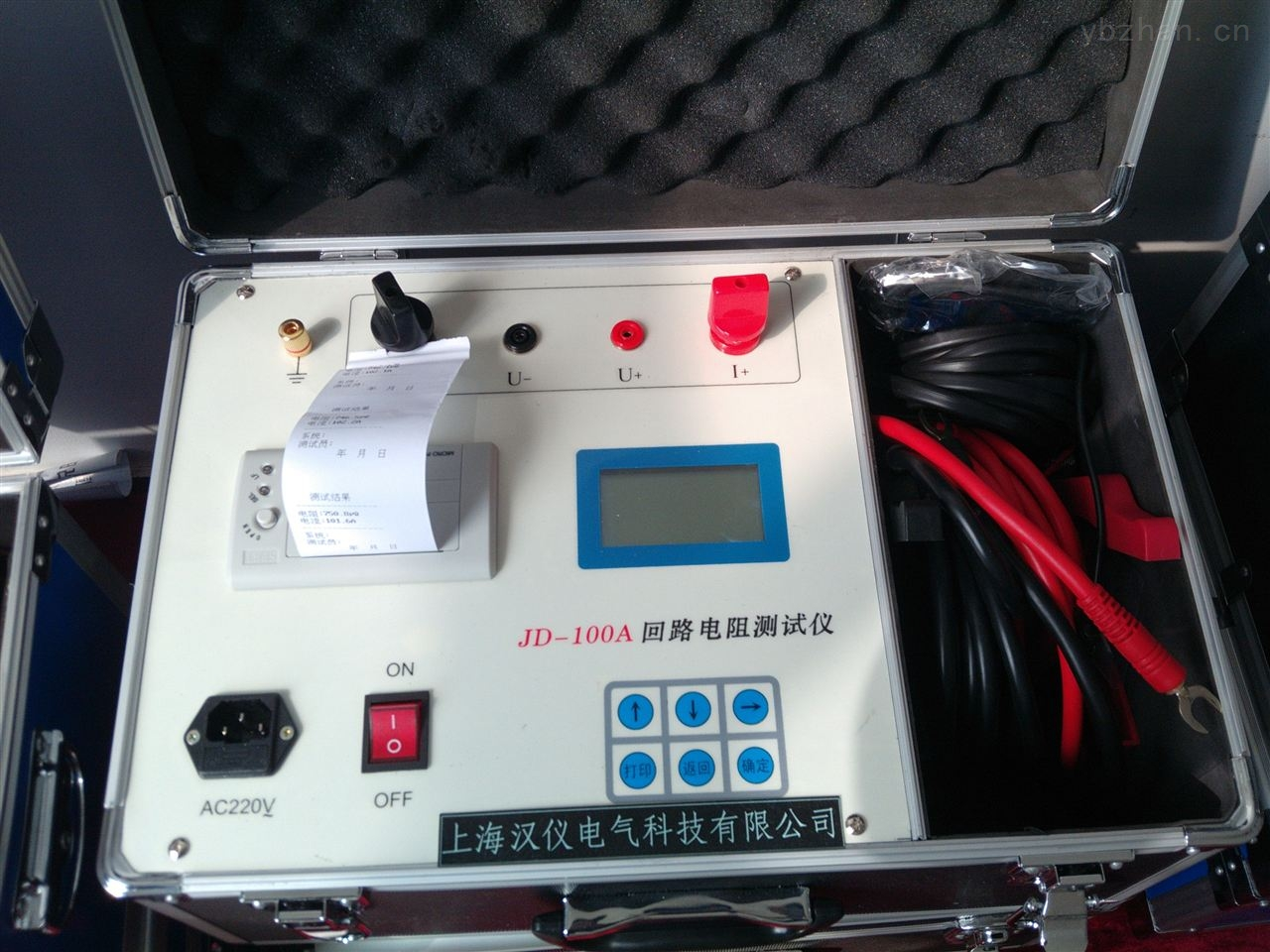 打印功能回路電阻測試儀租賃出售