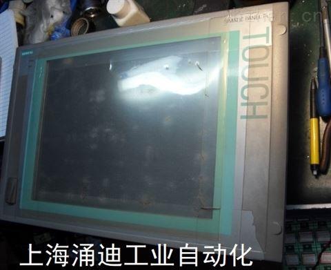 西门子工控机自检通不过6RA80黑屏维修