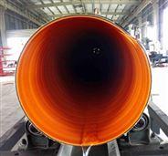 HDPE鋼帶波紋管道
