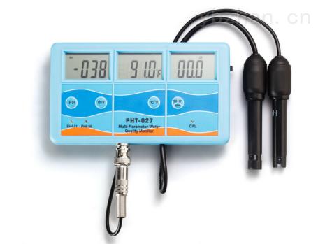 水族箱酸度盐度ORP电导率在线监测仪
