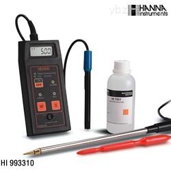 哈纳HANNA土壤电导率盐活度测定仪
