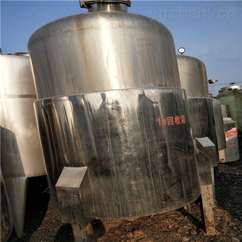 二手50立方不锈钢储罐回收处理