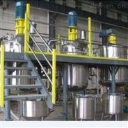 佛山三水中性硅酮膠反應釜分散機高粘壓濾機