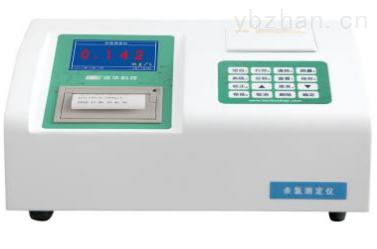 连华科技台式打印型余氯测定仪