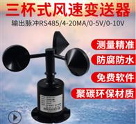 RS-FSJT-*聚碳风速传感器厂家