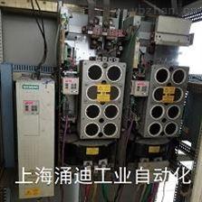 F020电机过温西门子变频器故障F006直流母线过压维修