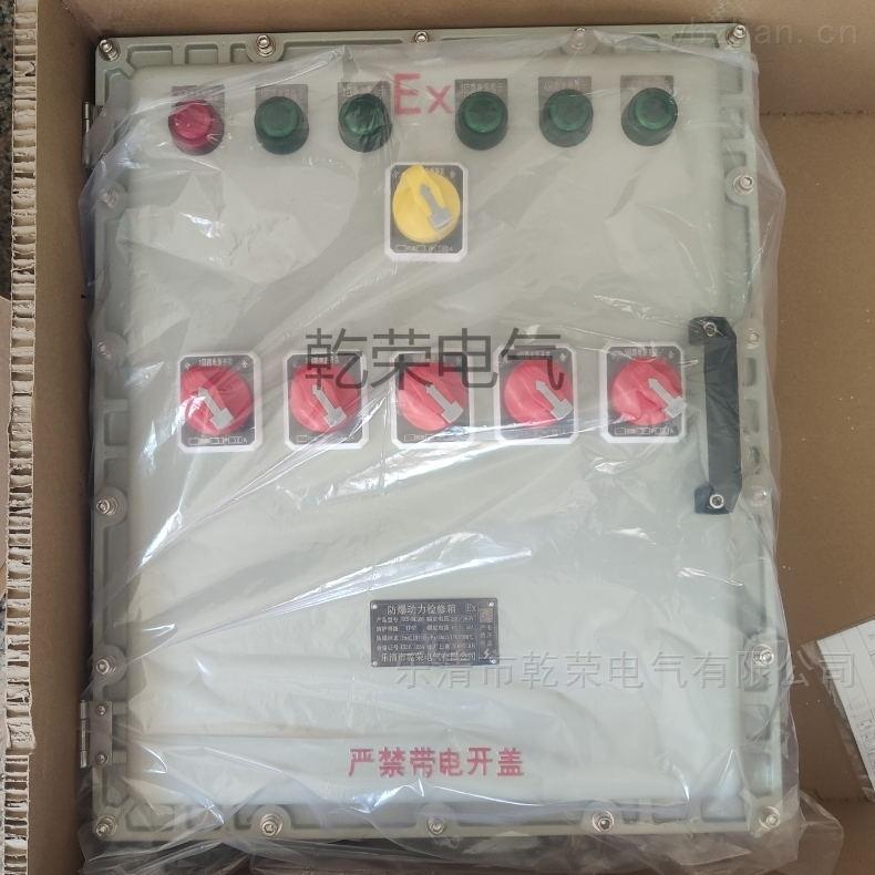一控一带双电源防爆水泵控制箱