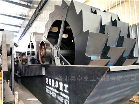 广东机制砂洗砂机厂家  阳江洗沙机械设备