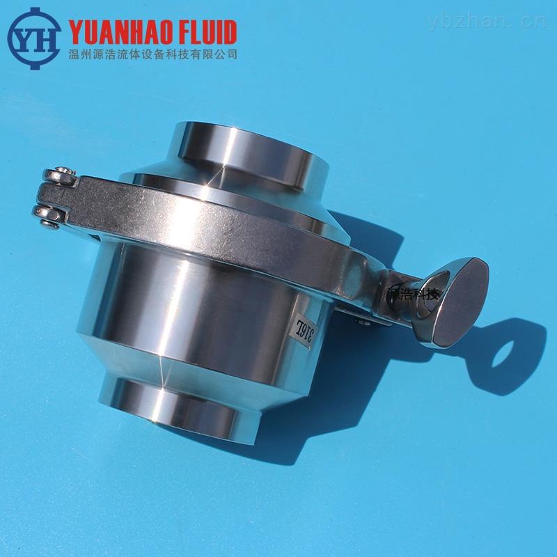 止回阀-源浩不锈钢卫生级焊接止回阀 对焊单向阀