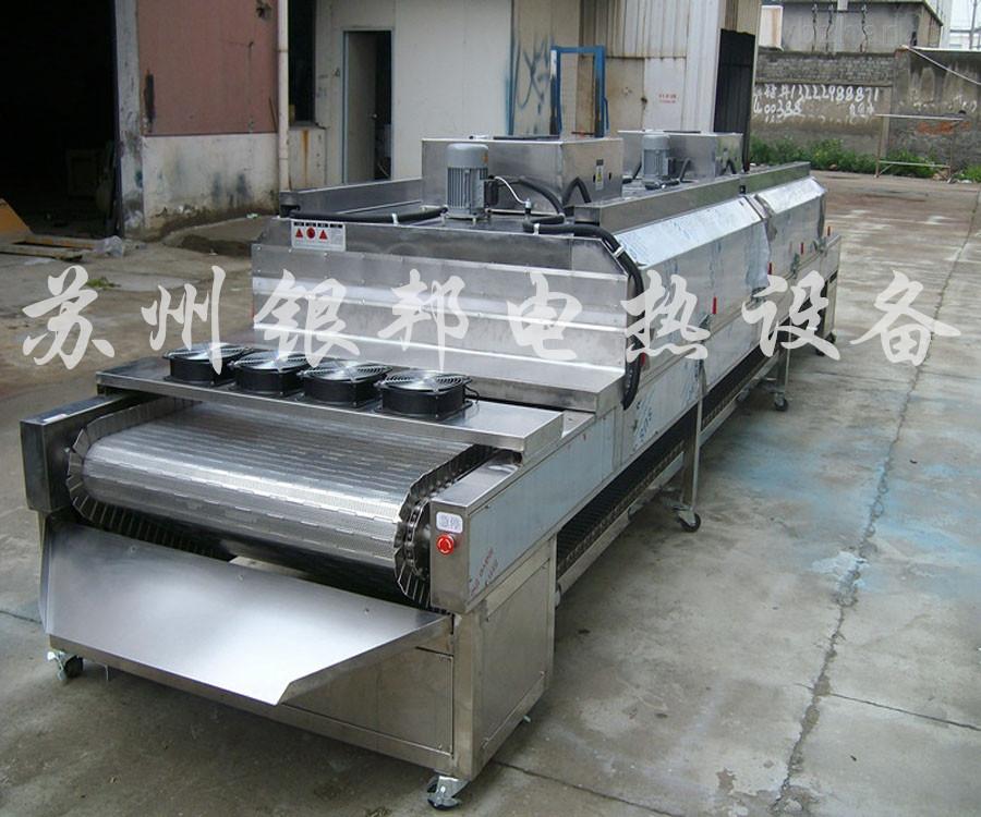 电加热隧道式烘干机 250℃流水线隧道烘箱 隧道式烘干炉