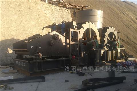 广东洗沙机制造商  阳江河道砂洗砂设备供应