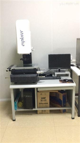 武汉汽车热换器二次元影像测量仪的应用