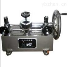 YJY-6A手掀压力校验器