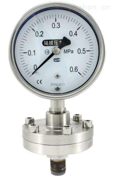 无锡专业生产膜盒压力表