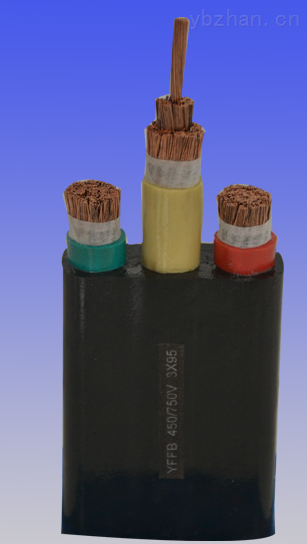 扁平软电缆YFFB-3*95mm2